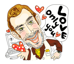 Cheesy People in Tokyo (Eng ver.) sticker #1997037