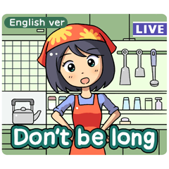 Live Mom in TV(English version)