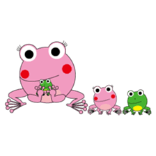 Pinky the Frog 2nd, Sexier Pinky sticker #2000971