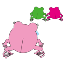 Pinky the Frog 2nd, Sexier Pinky sticker #2000976