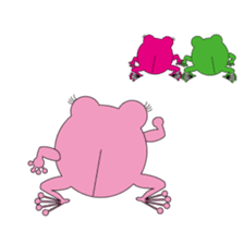 Pinky the Frog 2nd, Sexier Pinky sticker #2000980