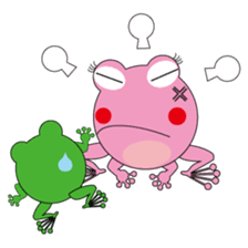 Pinky the Frog 2nd, Sexier Pinky sticker #2000981