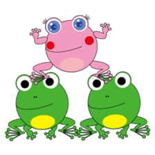 Pinky the Frog 2nd, Sexier Pinky sticker #2000988