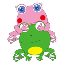 Pinky the Frog 2nd, Sexier Pinky sticker #2000993
