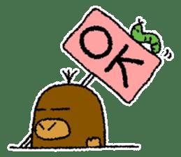 """Mole Kyoto """"Shigeru"""" 1st sticker #2001553"""