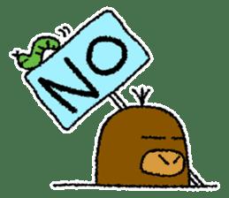 """Mole Kyoto """"Shigeru"""" 1st sticker #2001554"""