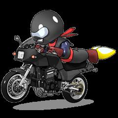 Rider ninja black