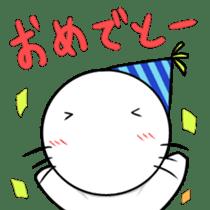 cat mole sticker #2005589