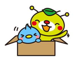 Kumamechi and his friends (English) sticker #2007326