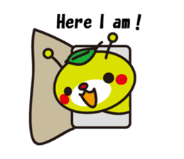 Kumamechi and his friends (English) sticker #2007353