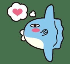 Shy Sunfish sticker #2007646