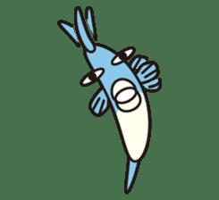 Shy Sunfish sticker #2007656