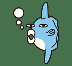 Shy Sunfish sticker #2007661