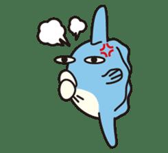 Shy Sunfish sticker #2007663