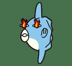 Shy Sunfish sticker #2007664