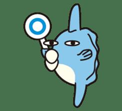 Shy Sunfish sticker #2007668
