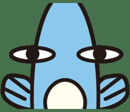 Shy Sunfish sticker #2007679