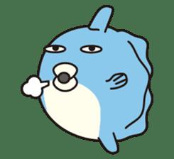 Shy Sunfish sticker #2007681