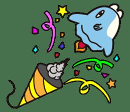 Shy Sunfish sticker #2007684