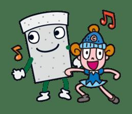 Go! Go! Connie-chan! sticker #2009561