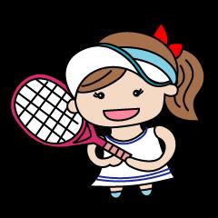 I am tennis girl!