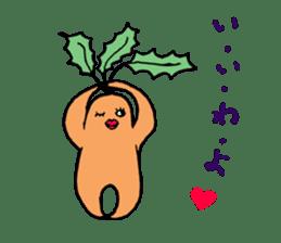 Sexy carrot sticker #2023008