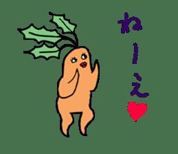 Sexy carrot sticker #2023011
