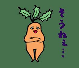 Sexy carrot sticker #2023014