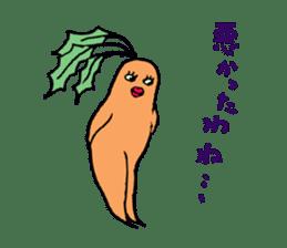 Sexy carrot sticker #2023016