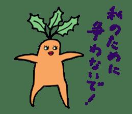 Sexy carrot sticker #2023019