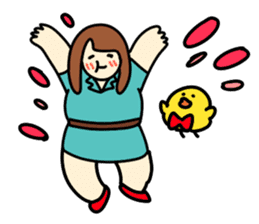 Glutton Nana sticker #2031246