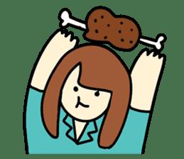 Glutton Nana sticker #2031266