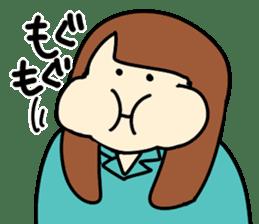 Glutton Nana sticker #2031274