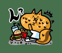 KARATE animal sticker #2032605