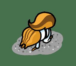 KARATE animal sticker #2032611
