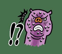 KARATE animal sticker #2032615