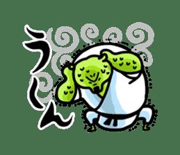 KARATE animal sticker #2032617