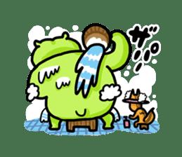 KARATE animal sticker #2032642