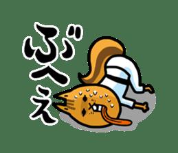 KARATE animal sticker #2032644