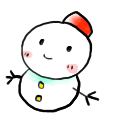 The 1st of snowman