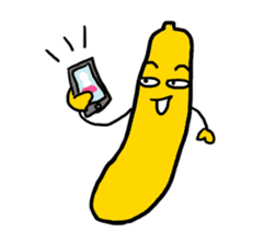 Communicate in banana sticker #2036900