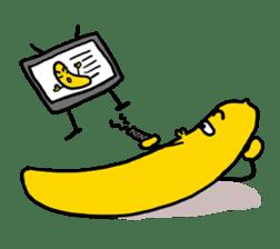 Communicate in banana sticker #2036914