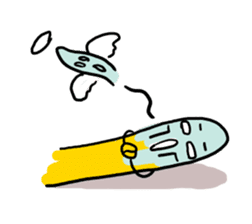 Communicate in banana sticker #2036917