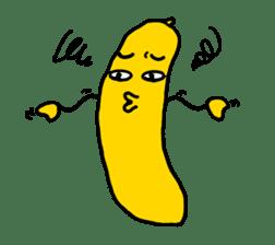 Communicate in banana sticker #2036918