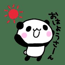Panda go to Kansai sticker #2038685