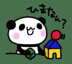 Panda go to Kansai sticker #2038687