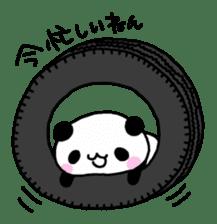 Panda go to Kansai sticker #2038689