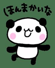 Panda go to Kansai sticker #2038693