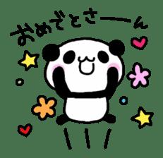 Panda go to Kansai sticker #2038696
