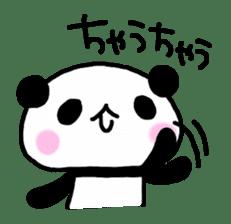 Panda go to Kansai sticker #2038699